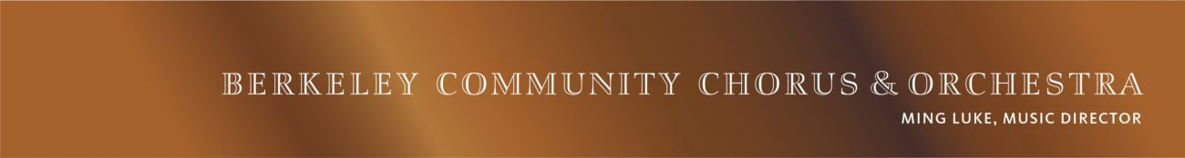 Berkeley Community Chorus & Orchestra
